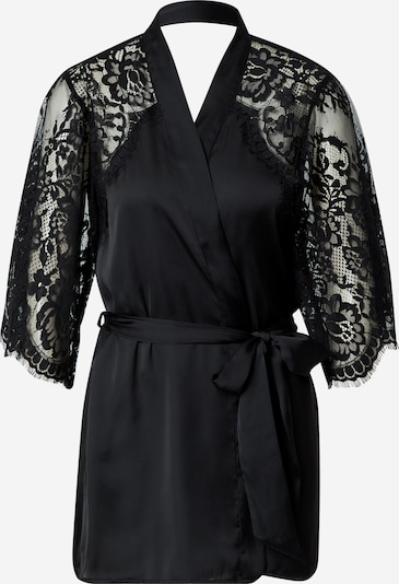 Hunkemöller Dressing gown 'Jennifer' in Black, Item view