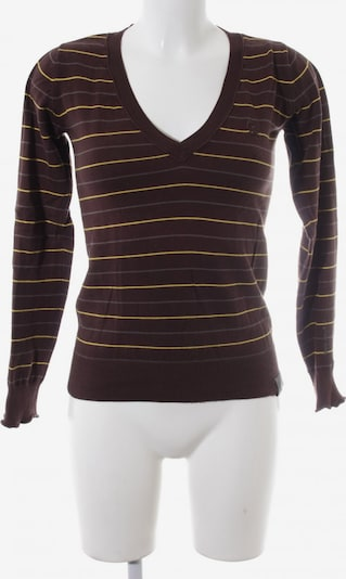 G-Star RAW Sweater & Cardigan in S in Brown / Yellow, Item view