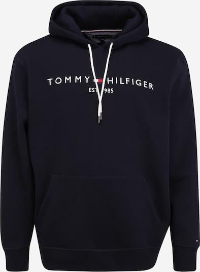 Tommy Hilfiger Big & Tall Sweatshirt in dunkelblau / weiß, Produktansicht
