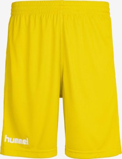Hummel Sportbroek in de kleur Geel, Productweergave