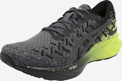 ASICS Chaussure de course 'DYNABLAST' en citron vert / noir chiné, Vue avec produit
