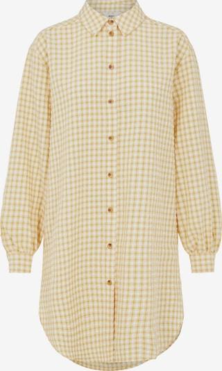 OBJECT Kleid 'Tamar' in gelb / weiß, Produktansicht