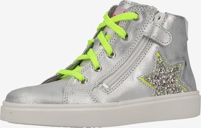 RICHTER Sneaker in neongrün / silber, Produktansicht