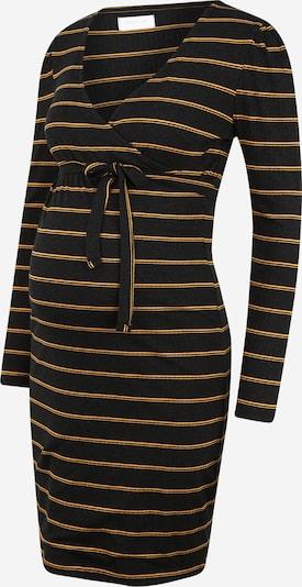 MAMALICIOUS Robe en or / noir, Vue avec produit