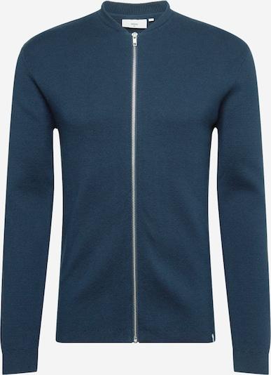minimum Gebreid vest 'Steeno' in de kleur Hemelsblauw, Productweergave