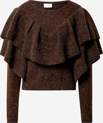 VILA Pullover 'Kemina' in rostbraun, Produktansicht