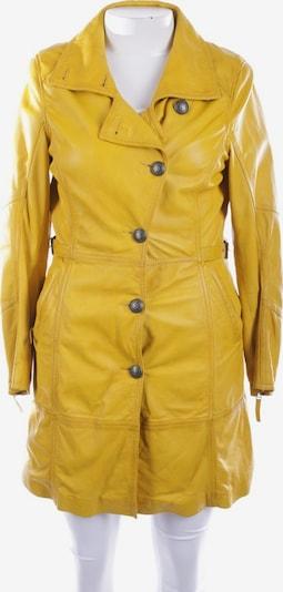 OAKWOOD Lederjacke / Ledermantel in XL in gelb, Produktansicht