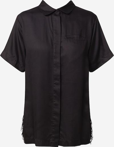 Underprotection Slaapshirt 'Freya' in de kleur Zwart, Productweergave