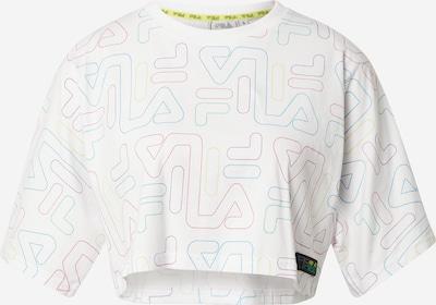 FILA Sportshirt 'SUSAN' in türkis / limone / jade / dunkellila / weiß, Produktansicht