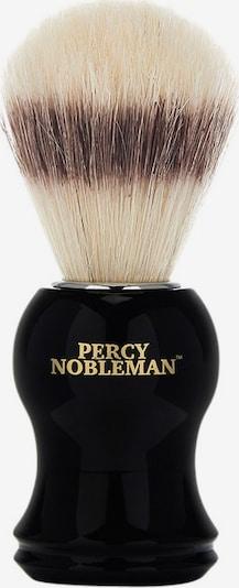 Percy Nobleman Shaving Brush in Beige / Brown / Gold / Black, Item view