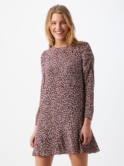 Whistles Kleid 'GEORGINA' in dunkelrot / weiß, Modelansicht