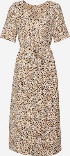 OBJECT Kleid 'AMANDA' in creme / dunkelorange / schwarz, Produktansicht