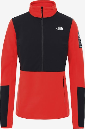 THE NORTH FACE Shirt 'DIABLO' in rot / schwarz, Produktansicht