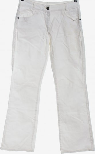 UNBEKANNT Jeansschlaghose in 30-31 in weiß, Produktansicht