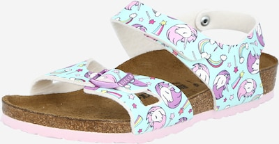BIRKENSTOCK Sandale 'Colorado' in hellblau / gelb / lila / pink / weiß, Produktansicht