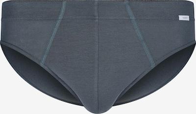 HUBER Brasil-Slip Selective Men mit extra softem Innenbundgummi in grau, Produktansicht