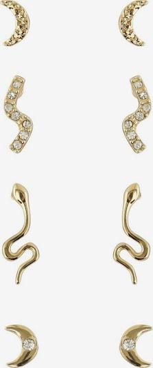 PIECES Boucles d'oreilles 'Anaka' en or, Vue avec produit