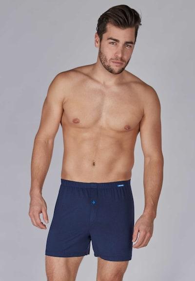 Boxer trumpikės iš Skiny , spalva - tamsiai mėlyna, Modelio vaizdas