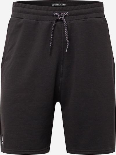 Pantaloni sport ELEMENT pe azuriu / negru, Vizualizare produs