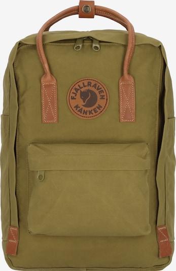 Fjällräven Rucksack in braun / grün, Produktansicht