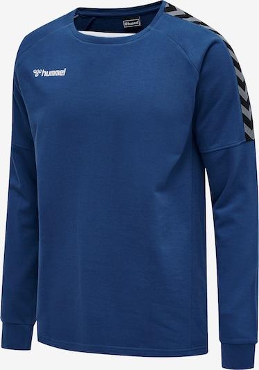 Hummel Sweatshirt in royalblau / rauchgrau / schwarz / weiß, Produktansicht
