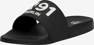 N91 Sandale 'Urban Slide AA' in schwarz, Produktansicht