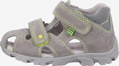 ELEFANTEN Sandale in grau: Frontalansicht