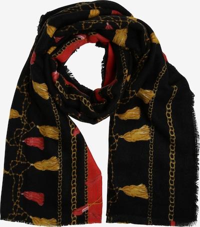 Franco Callegari Schal in gelb / rot / schwarz, Produktansicht