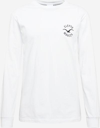 Cleptomanicx Shirt 'Games' in nachtblau / weiß, Produktansicht