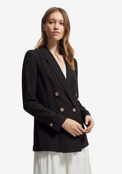 COMMA Blazer in Long-Shape in schwarz, Modelansicht