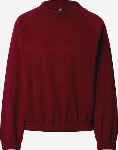 Degree Sweatshirt in blutrot, Produktansicht