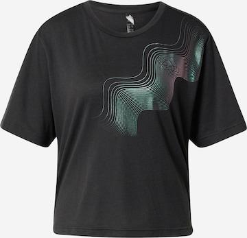 ADIDAS PERFORMANCE Funksjonsskjorte i svart