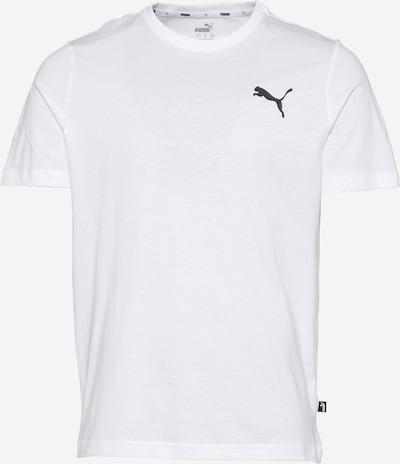 PUMA Funkčné tričko 'Essentials' - čierna / biela, Produkt