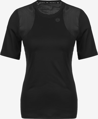 UNDER ARMOUR T-shirt fonctionnel 'Rush' en noir, Vue avec produit