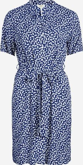 OBJECT Blusenkleid in royalblau / weiß, Produktansicht
