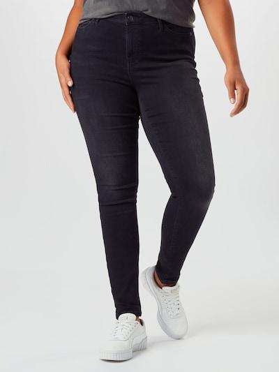 Junarose Jeans in dunkelgrau: Frontalansicht