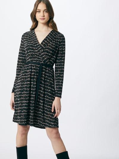 s.Oliver BLACK LABEL Kleid in braun / schwarz / weiß, Modelansicht