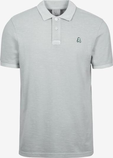 Scalpers Poloshirt in navy / hellgrau / weiß, Produktansicht