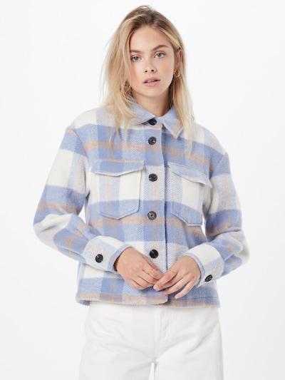 Giacca di mezza stagione 'Pernille' VERO MODA di colore crema / lilla chiaro / arancione chiaro: Vista frontale