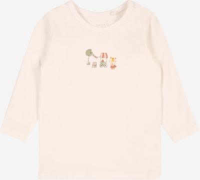 NAME IT Shirt 'HAIFA' in goldgelb / grün / apricot / pastellrot / weiß, Produktansicht