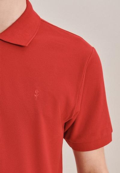 SEIDENSTICKER Polo-Shirt ' Slim ' in rot, Produktansicht