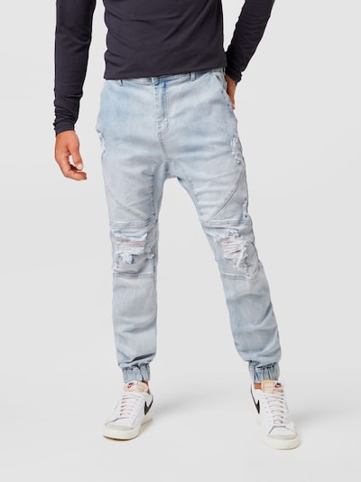 Jeans Cotton On di colore blu denim, Visualizzazione modelli