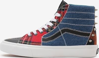 Sneaker înalt 'SK8-Hi' VANS pe albastru denim / gri / mai multe culori / roșu, Vizualizare produs