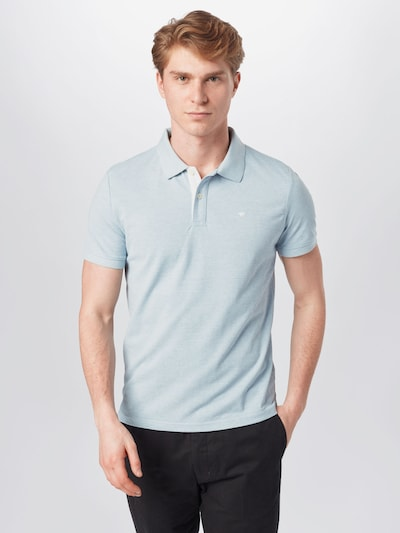 TOM TAILOR Shirt in light blue: Frontal view