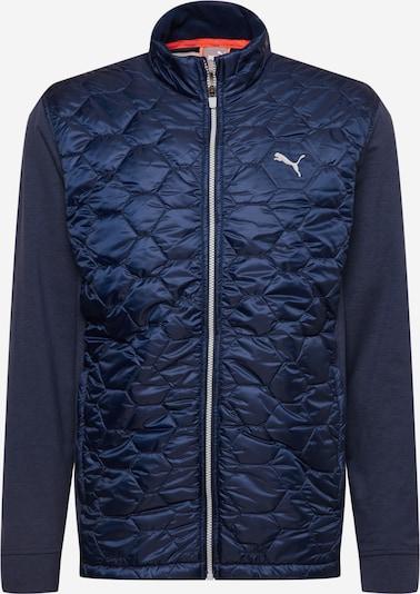 PUMA Sporta jaka, krāsa - tumši zils, Preces skats