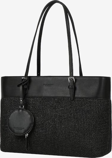 Seidenfelt Manufaktur Shoppingväska i svart, Produktvy