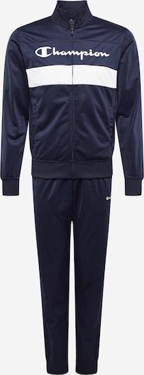 Champion Authentic Athletic Apparel Survêtement en bleu marine / blanc, Vue avec produit
