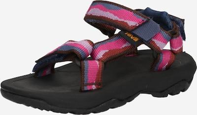 TEVA Otvorene cipele u golublje plava / hrđavo smeđa / roza / roza, Pregled proizvoda