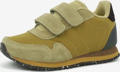 WODEN Sneakers 'Nor Suede' in khaki / schilf, Produktansicht