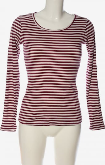 ROADSIGN Langarm-Bluse in S in creme / braun, Produktansicht